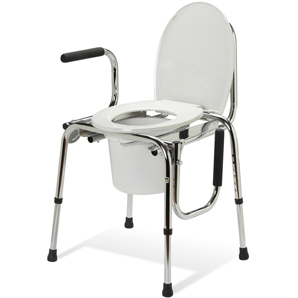 Guardian Non-Padded Drop-Arm Commode