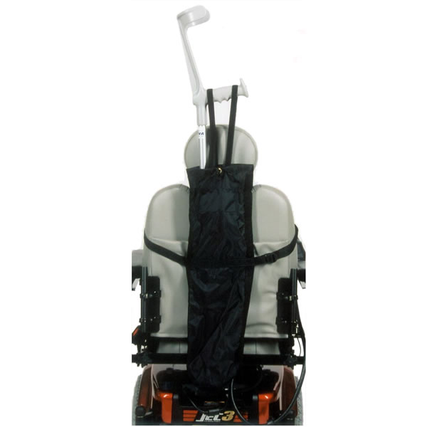 Crutch Holder For Scooters And Power Wheelchairs