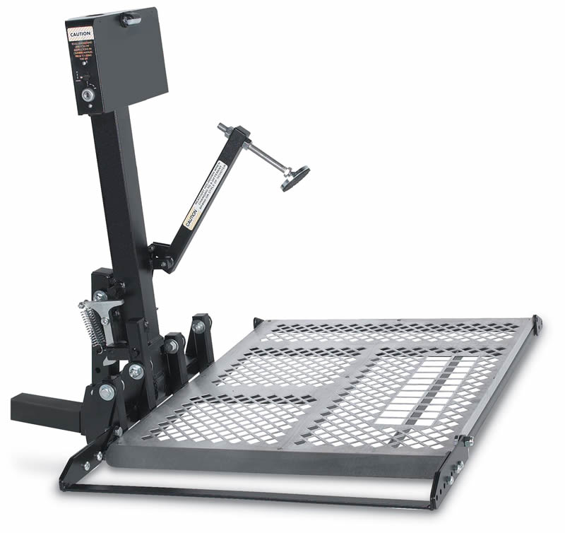 Harmar Universal Scooter Lift For Class Ii And Class Iii: wheelchair lift motor