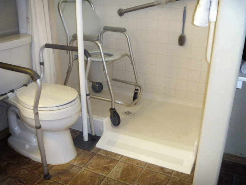 Roll In Shower Conversion Kit By Ameriglide