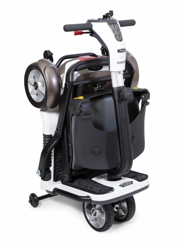 Pride go go folding electric scooter 4 wheel electric for Fold up scooters motorized
