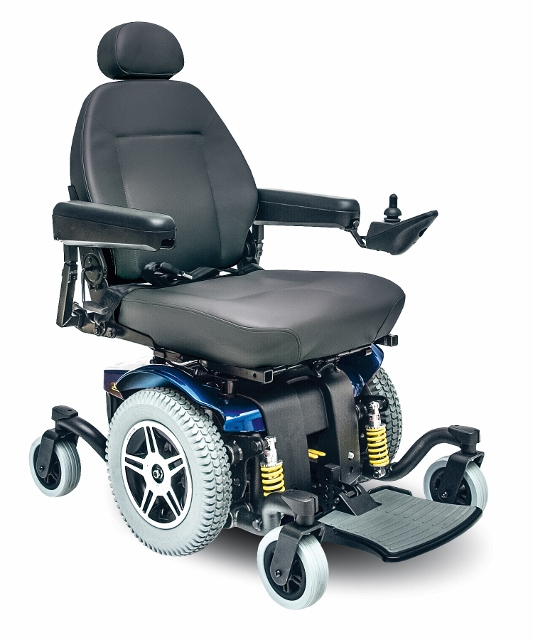 Jazzy Electric Wheelchair Pride Jazzy 614 Hd
