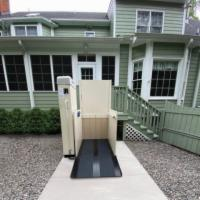 AmeriGlide Hercules II 600 Residential Vertical Wheelchair Lift