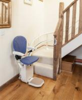 AmeriGlide Platinum Curved Approved Stair Lift-Used