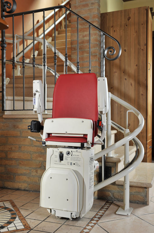 Ameriglide Curved Stair Lift Hd