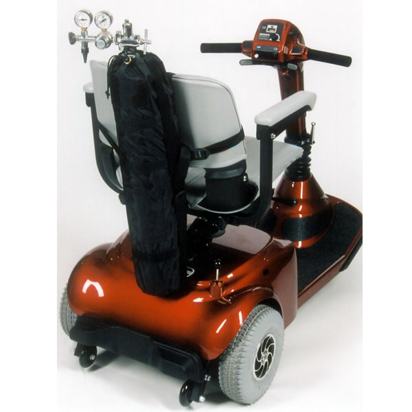 Oxygen Tank Holder For Scooters And Power Wheelchairs